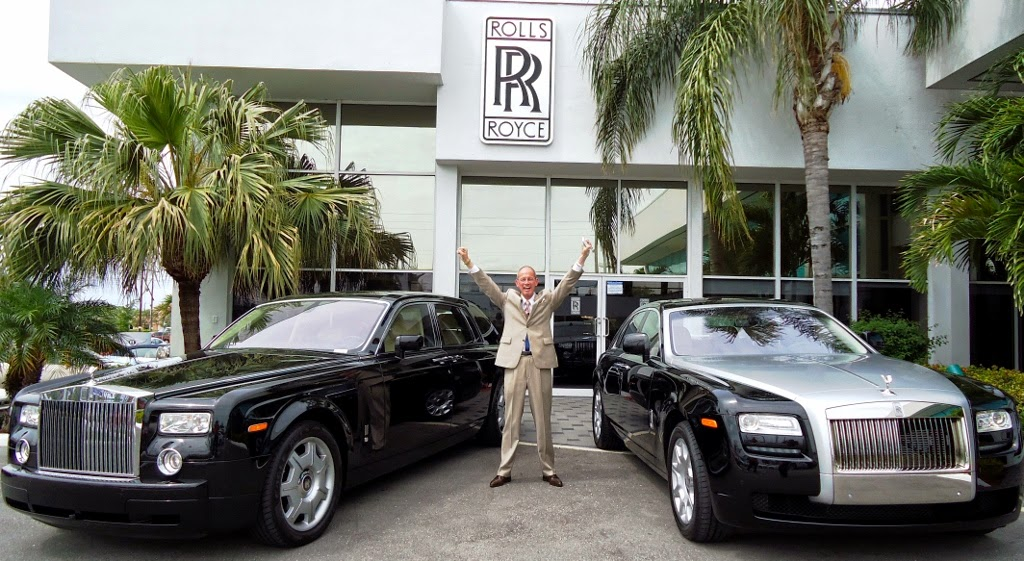 The Midas Road Ralph Avila Of Rolls Royce Motor Cars Palm Beach