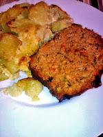 Ρολό κιμά με πατάτες γκρατινέ - by https://syntages-faghtwn.blogspot.gr