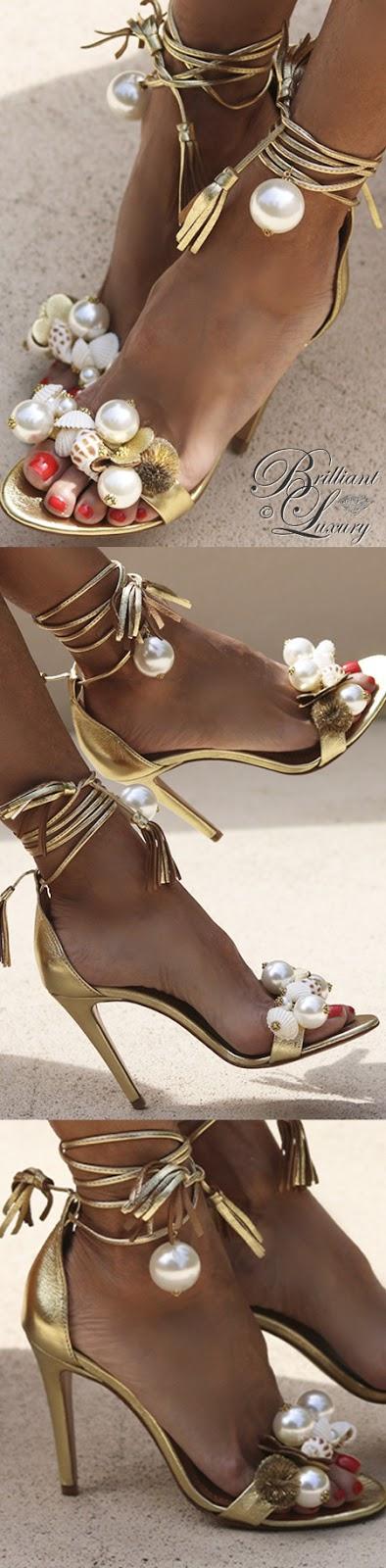 Brilliant Luxury ♦ Alameda Turquesa Dona Ana sandals