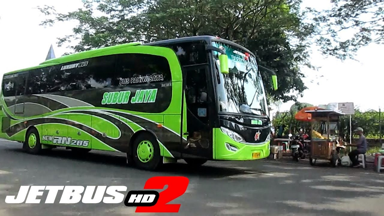 The Valuable Experience Livery Unyu Lucu Bus Malam AKAP Pariwisata