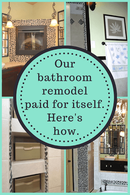 remodeled bathroom before and after photos