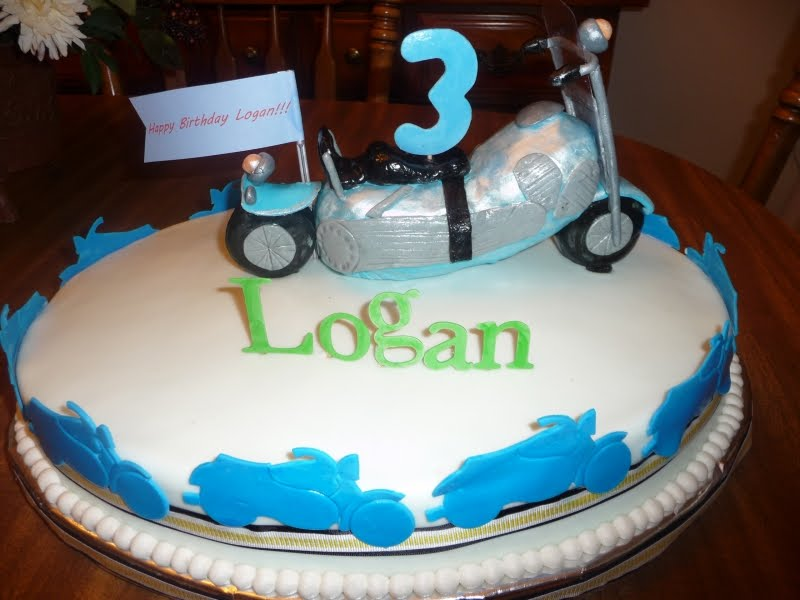 Fine Icing On Top Cakes For Every Occasion Motorcycle Birthday Cake Funny Birthday Cards Online Alyptdamsfinfo