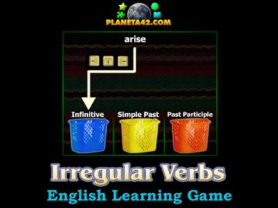 Irregular Verbs Tetris