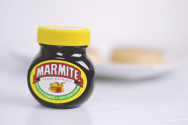 Marmite Crumpets