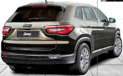 2017 Jeep Compass Back view image