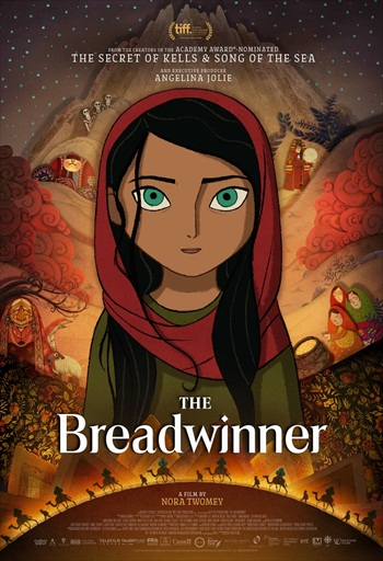 The Breadwinner 2017 English 480p WEB-DL 300MB ESubs