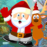 Play Games4King Reindeer And Santa Rescue