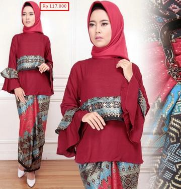 desain baju batik 2019
