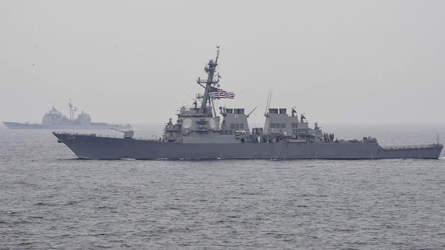 Crew feared missing after US Navy ship, Philippine vessel collide