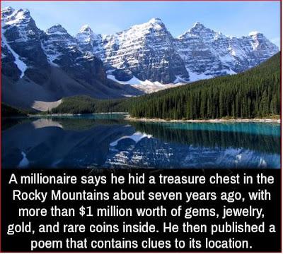 A millionaire treasure