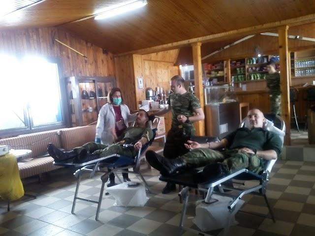 Όλυμπος: Έλληνες Καταδρομείς προσέφεραν αίμα σε υψόμετρο 1.800 μέτρων! (ΦΩΤΟ)