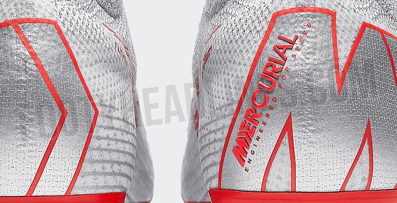 be7b8f641577 Silver Nike Mercurial Superfly 360 2018 Boots Leaked
