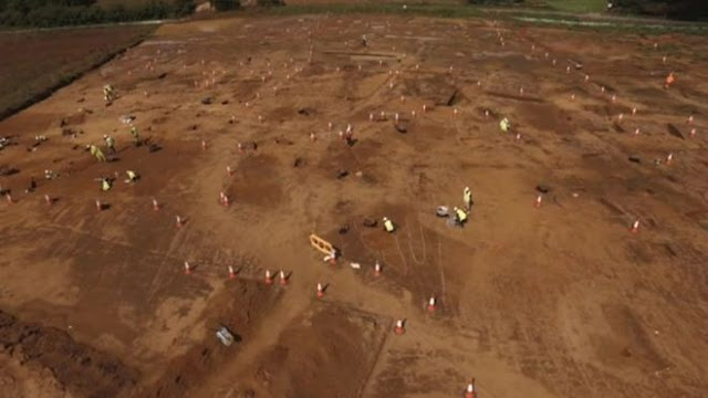 Anglo-Saxon settlement found at wind farm cable site
