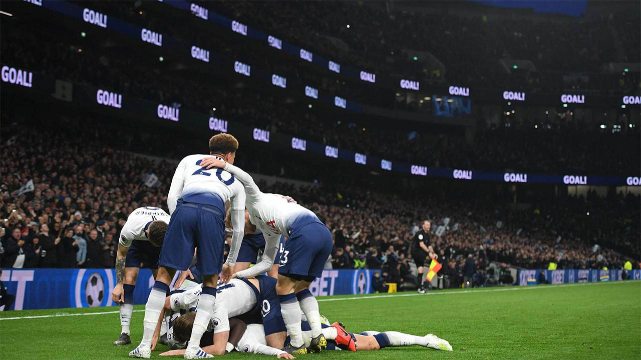 Emirates 2 0 Tottenham Hotspur Inaugurates 1 1 Bn