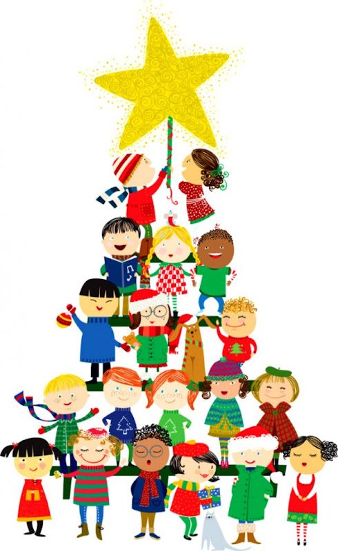 Christmas Party Pictures Clip Art.Kids Christmas Party Clipart Wallpapers Land