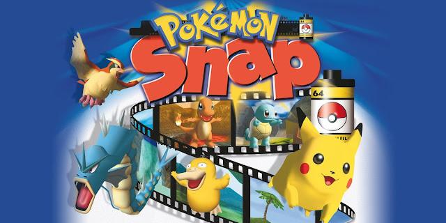 Tire foto de algumas das criaturas mais famosas da série neste jogo de Nintendo 64.