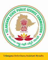 Telangana Veterinary Assistant Results