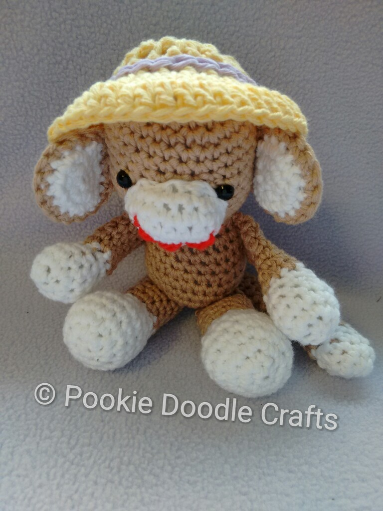 Little Bigfoot Monkey Revised Pattern Video Tutorial | 1024x768