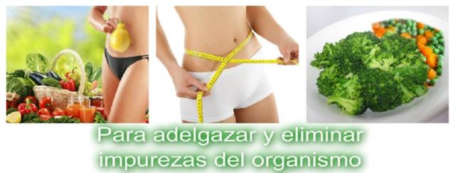 FANTASTICA DIETA DEPURATIVA-DETOX 1 DIA PARA DESPUES DE