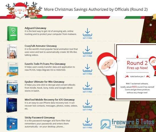 Offre promotionnelle : 6 logiciels commerciaux offerts gratuitement !