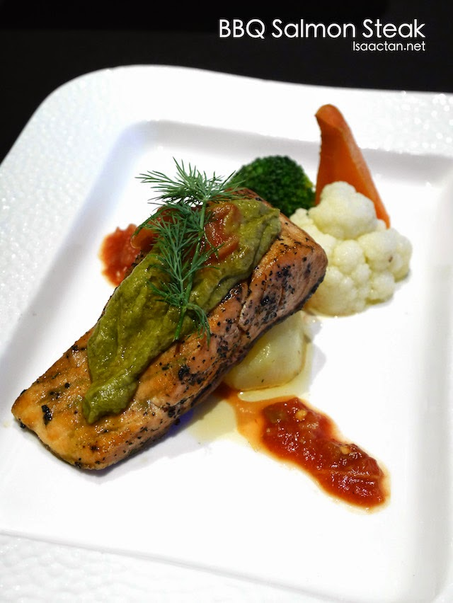 BBQ Salmon Steak - RM32