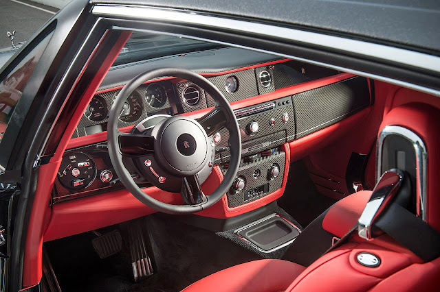 Rolls-Royce Bespoke Chicane Phantom Coupé dash