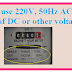 Why we use 220V, 50Hz AC at home instead of DC or other voltage?Full Explanation.