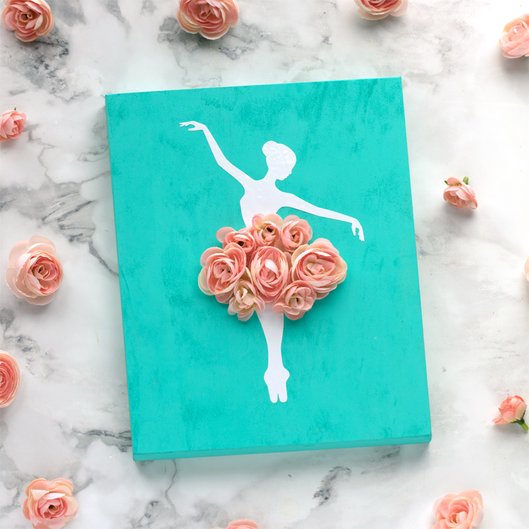 DIY Ballerina Sign