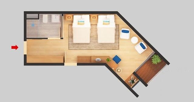 Thiết kế căn hộ 35.51 - 35.59m2