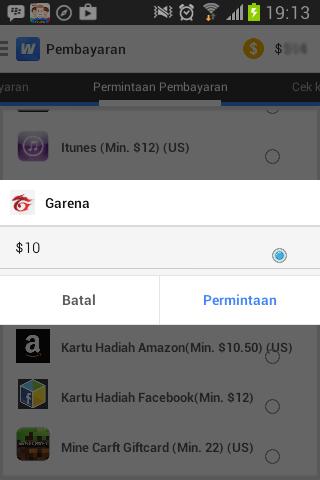 Gratis 10 Dollar Cash Point Blank Garena - Ngulik Kode