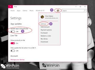 mematikan automatic update di windows 10