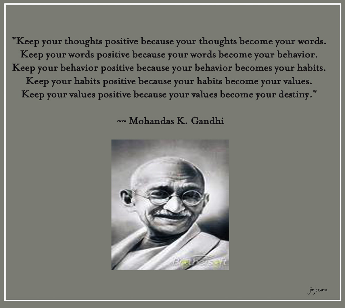 Famous Gandhi Quotes: MC FÜBBment: Inspirational Words