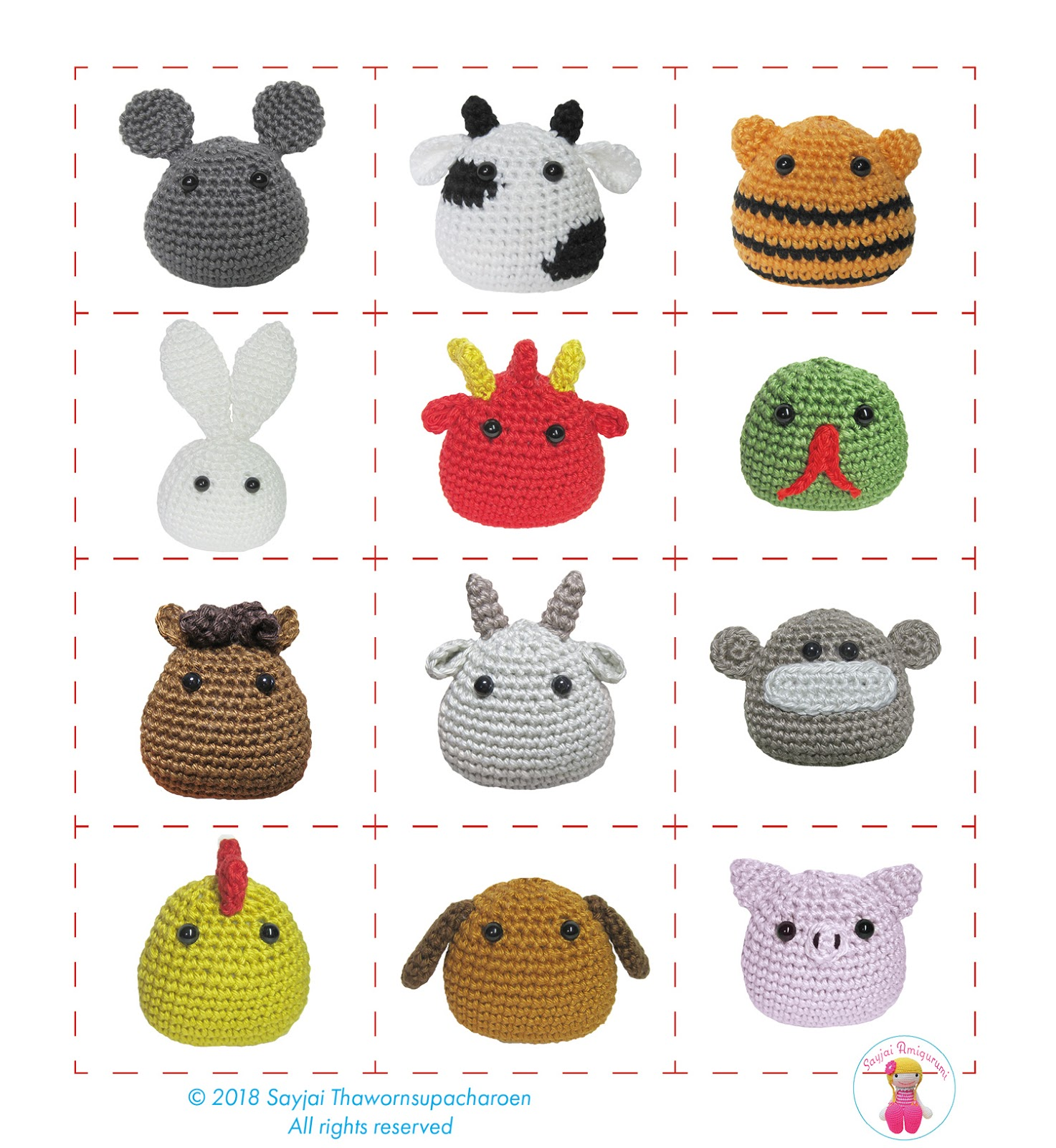 Amigurumi Crochet Pattern Kawaii Monkey Digital Download   Etsy   1600x1473