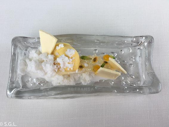 Pasion y coco Azurmendi. Experiencia gastronomica