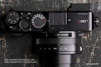 DC LX100 llの上面写真