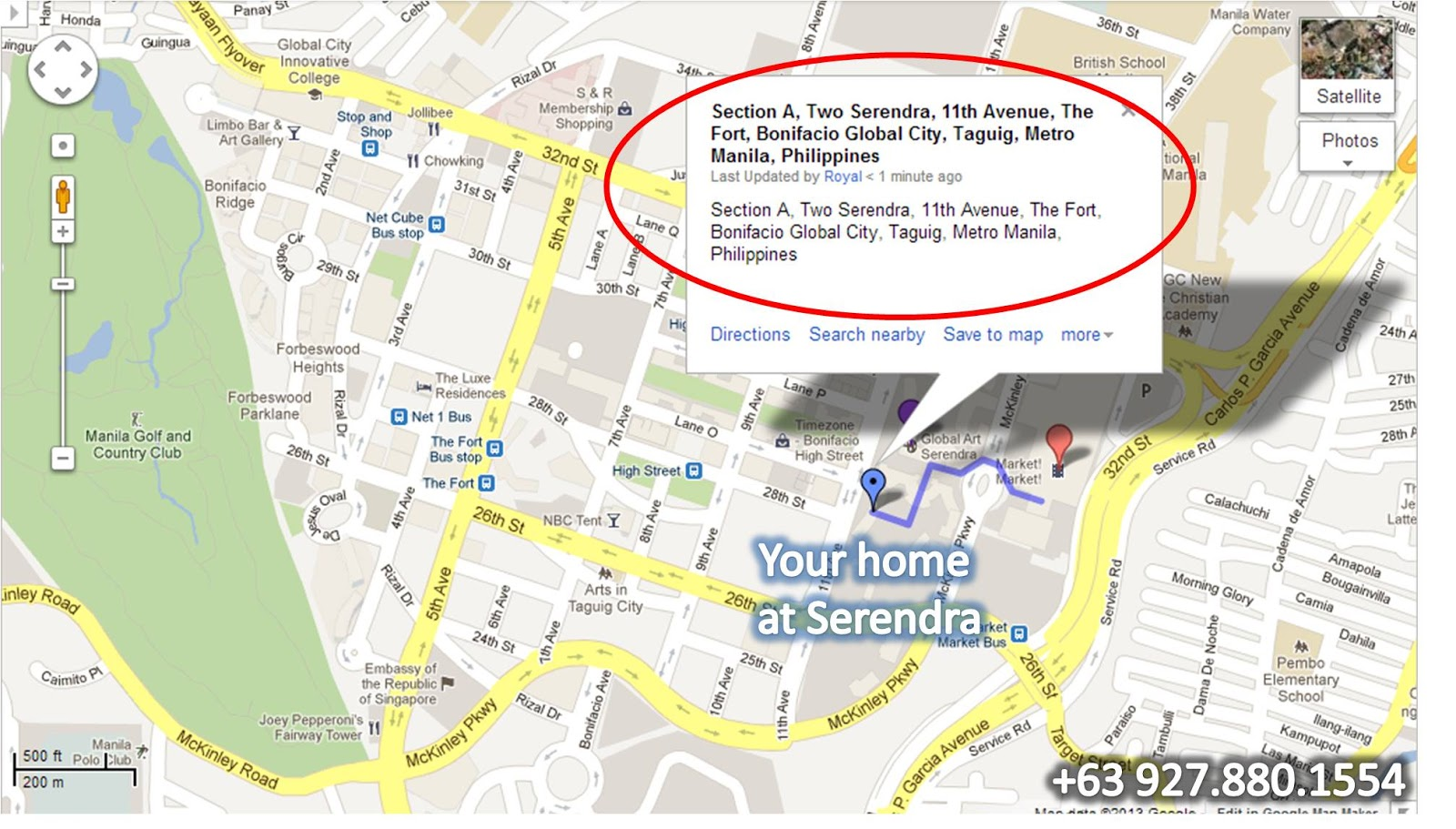 3 Bedroom Section 8 Houses Rent The Fort Condo For Rent Global City Serendra The Fort
