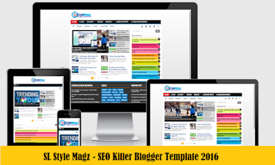 Template SEO Friendly Responsive Fast Loading Terbaru