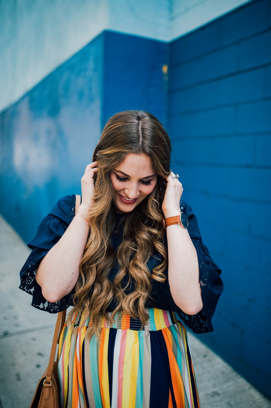 Trend Spin Linkup - Colorful Fashion by fashion blogger Laura of Walking in Memphis in High Heels