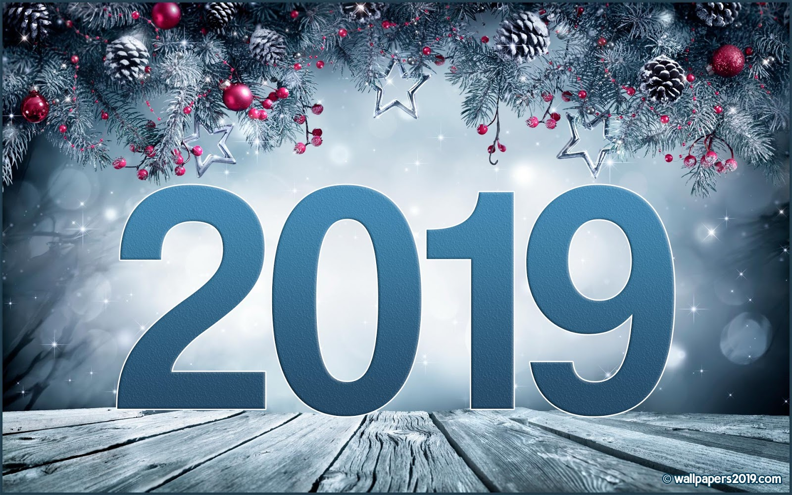 Happy New Year 2019 【 Wallpapers
