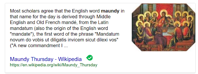 https://en.wikipedia.org/wiki/Maundy_Thursday