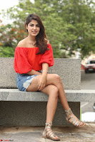 Rhea Chakraborty in Red Crop Top and Denim Shorts Spicy Pics ~  Exclusive 038.JPG