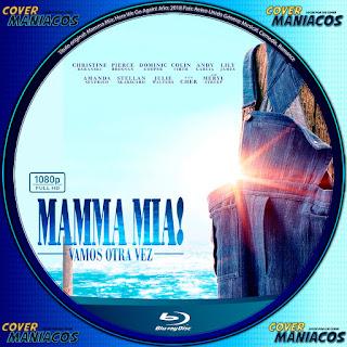 BLURAY CARATULA MAMMA MIA- 2018 - [COVER DVD]