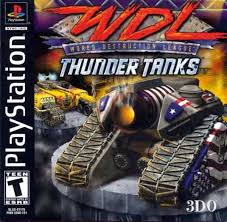 World Destruction League - Thunder Tanks  - PS1 - ISOs Download