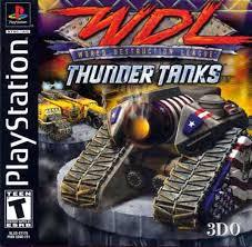 World Destruction League - Thunder Tanks  - PS1 - ISOs Download