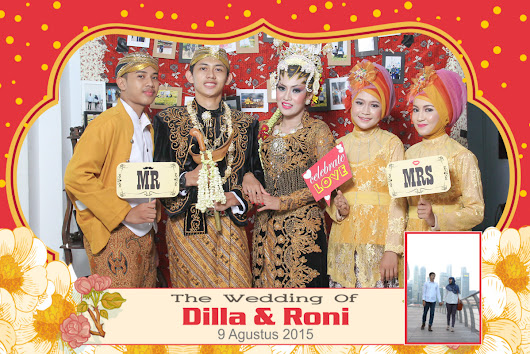 Jasa Photobooth di Tuban Wedding Dilla & Roni