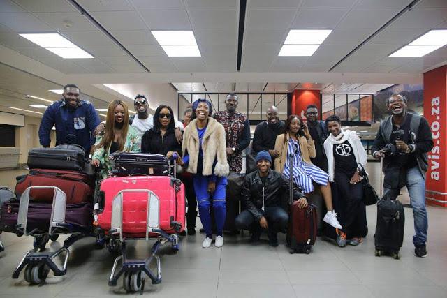John Dumelo, Jackie Appiah And Nigerian Stars Explore KwaZulu-Natal, Mpumulanga
