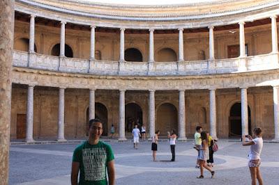 Palace of Carlos V in La Alhambra de Granada