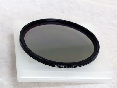 waka 77mm CPL 円偏光フィルター ウルトラスリム  16層多層加工 風景撮影用 Canon Nikon Sony対応