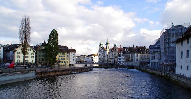 Lucerne Switzerland River