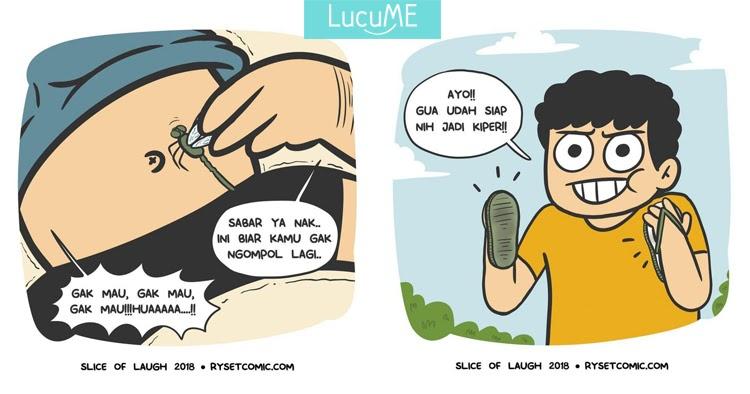 13 Komik Lucu Kehidupan Anak Kecil Sebelum Ada Gadget